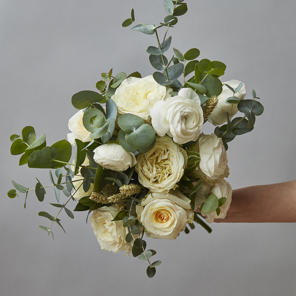 Vanilla buttercream palette | Bridal bouquet