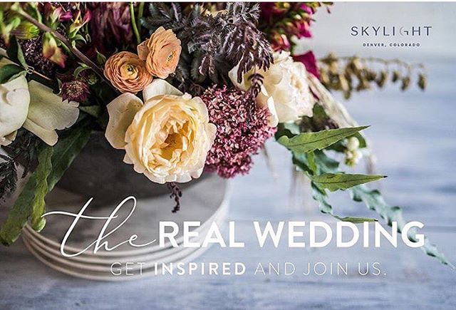 Ever wanted to be a real life wedding crasher?!? 😳 Well here's your chance! Come enjoy a lovely evening watching a REAL couple get married and see some of our favorite vendor pals showing off their best stuff! Get tickets at the link in bio!