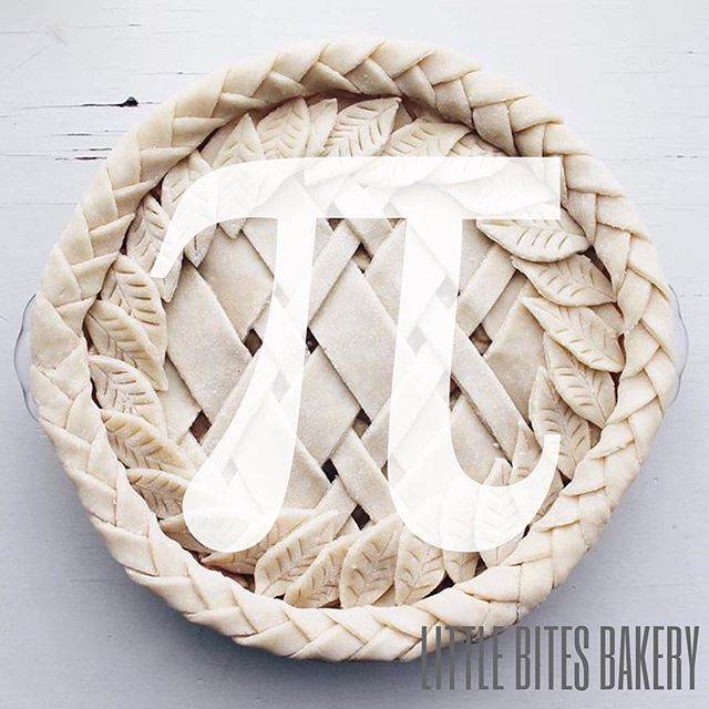 Sweet tooths and smarty pants are all celebrating today! In case you didn't know bakers and mathematicians have something in common, fascination with pi(e)! It's time to celebrate 3.14 and delicious flakey crust all at once!