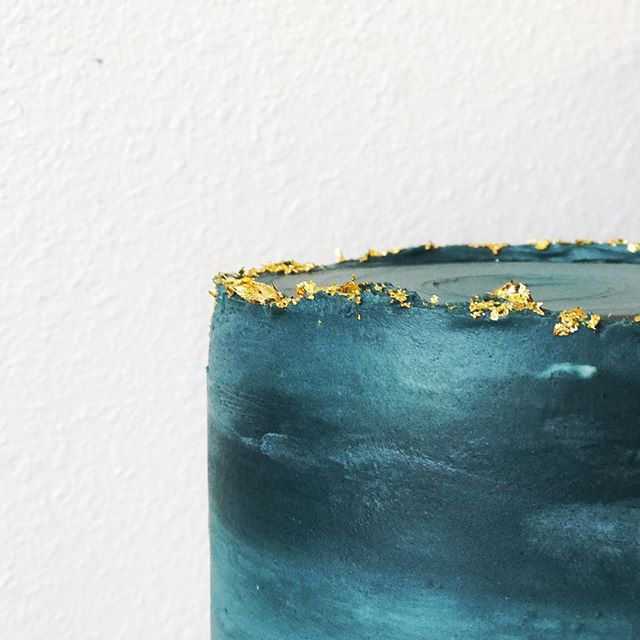 Just another close up because we love gold leaf 🍃