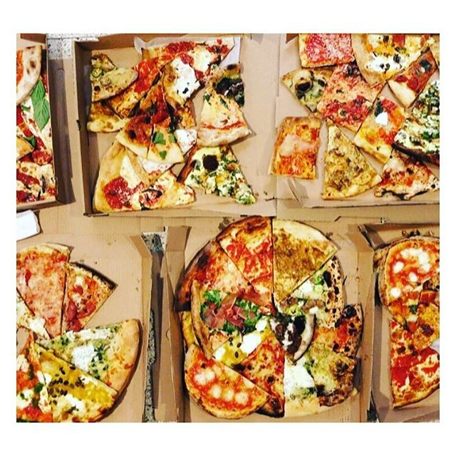 Grab your slices and put down your devices, it's #nationalpizzaday !  Who's celebrating? ✨🍕✨ #candysnacks • • • #pizzacheers #food #foodie #love #cheese #cheeseplease #dough #pizza #nyc #happy #eat #yum #foodporn #fashion #instagood #instagram