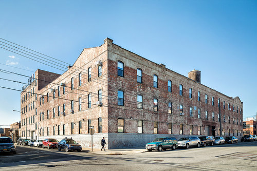 The former DeNobill Cigar Factory, at 35-11 9th Street in Long Island City