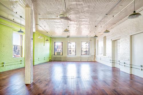 Renovated interior of the former DeNobill Cigar Factory, at 35-11 9th Street in LIC