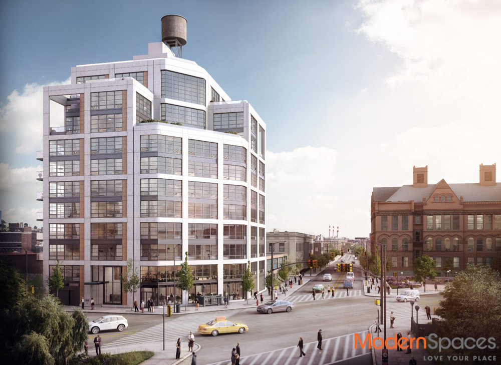 Rendering of the Jackson, at 1333 Jackson Avenue in Long Island City (credit: Modern Spaces)