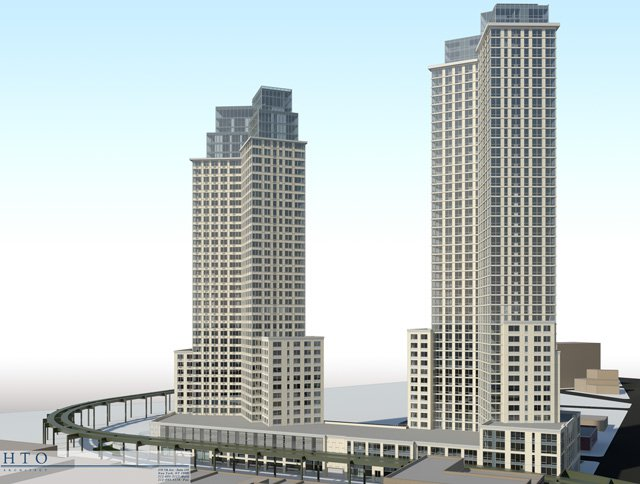 Rendering of 22-44 Jackson Avenue in Long Island City, which will replace 5Pointz (credit: HTO Architect)