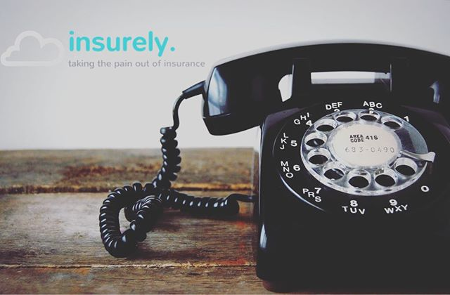 Still have to pick up the phone to get your insurance company to do something? Let us take the pain out of insurance. #Insurely