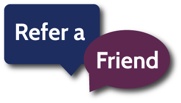 Tell everyone you know. It's that simple. Refer us and get $25 off your next rent if your friend rents with us!!