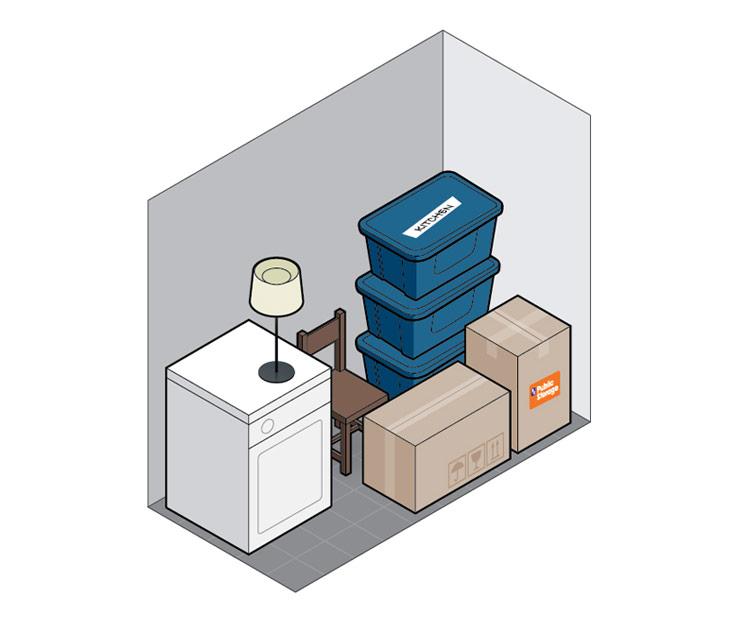 5x10 self storage