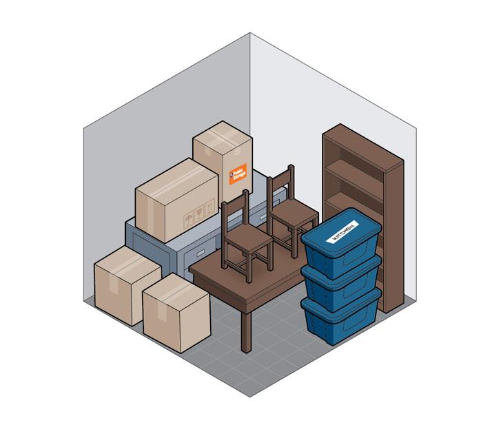 10x10 self storage