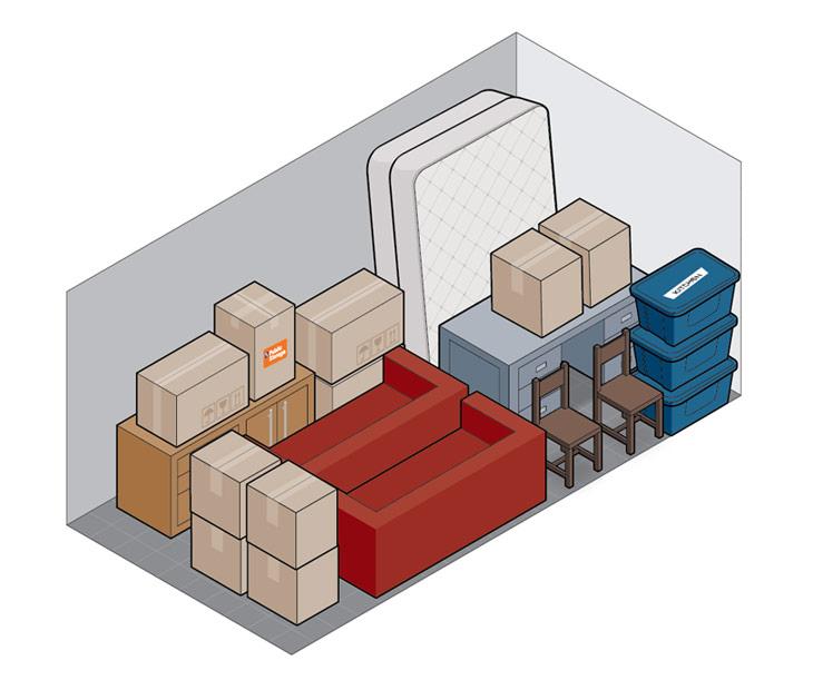 10x20self storage
