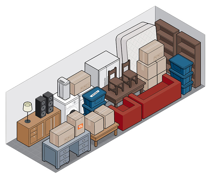 10x30 self storage