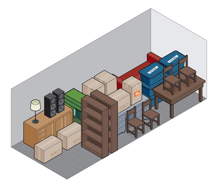 10x25 self storage