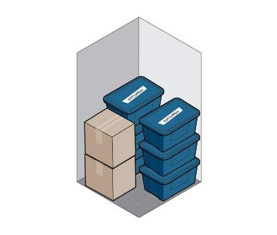 5x5 self storage