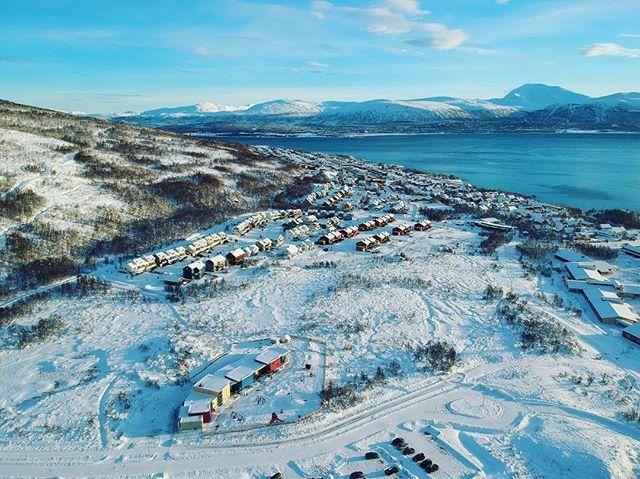 Storelva fra drone-perspektiv😎🛸🛰 #storelvtun #winter #arctic #tromsø