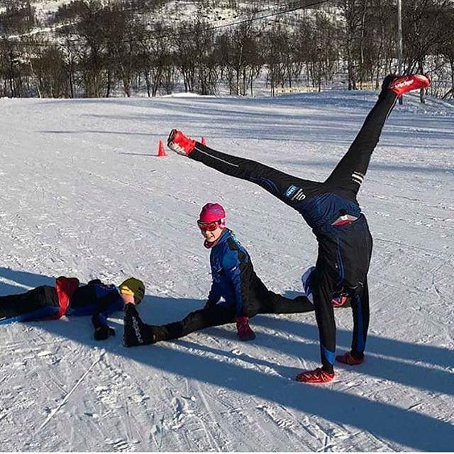 VINNER! Denne måneden deler vi ut 5.000kr til @kvaloeyslettaskilag, som viser skiglede, til og med uten ski på beina⛷😍 #storelvtun