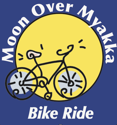 Moon over Myakka Bike Ride -
