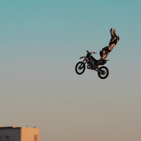 Step Up Productions & NASCAR Freestyle Motocross