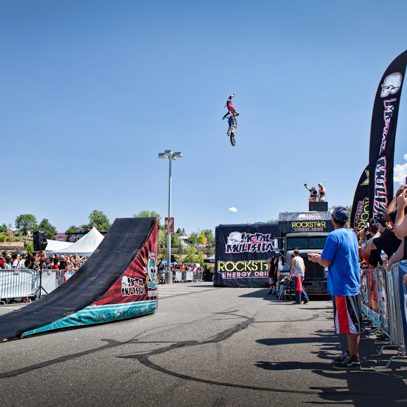 Step Up Productions action sports events, freestyle motocross & skate