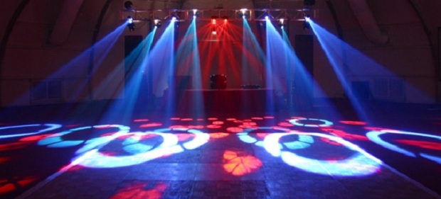 Step Up Productions event lighting