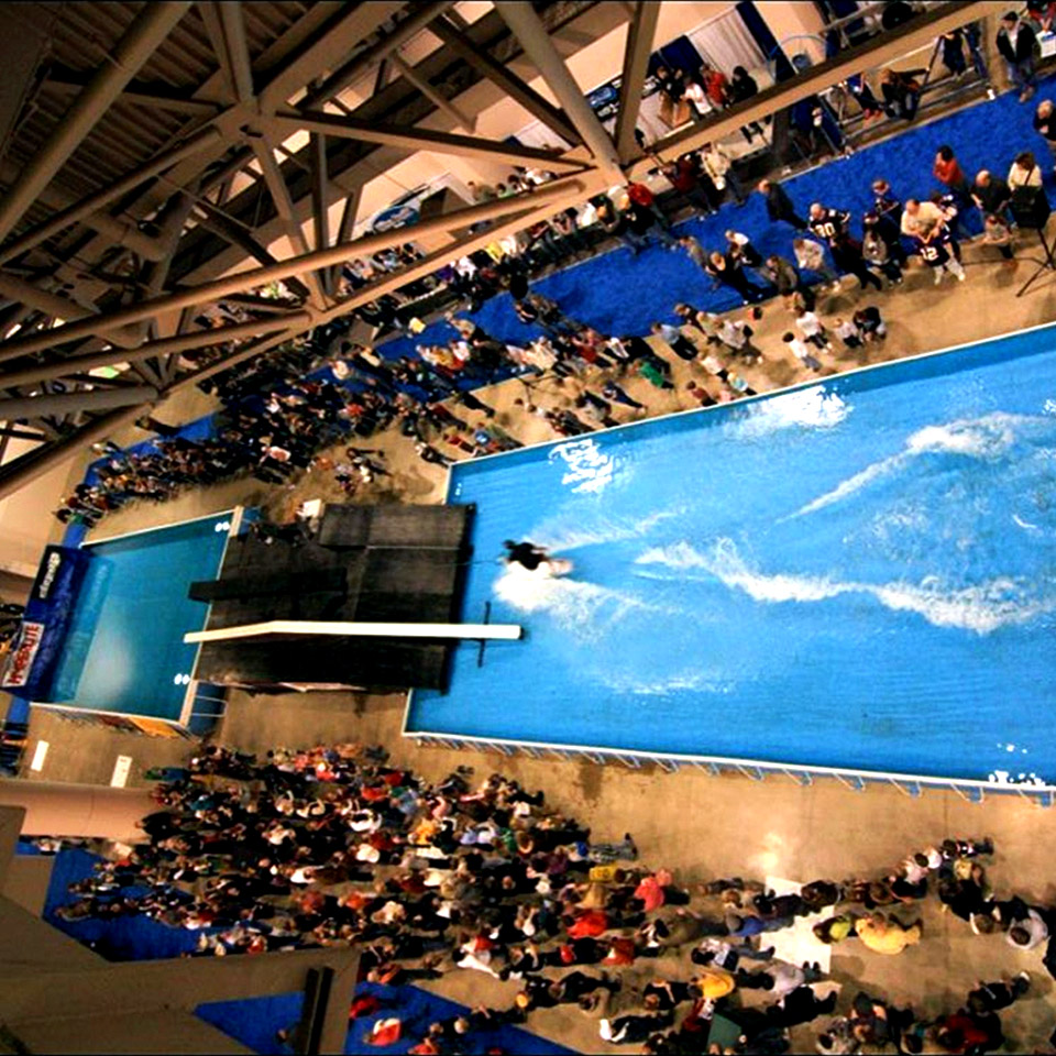 Step Up Productions Wake Rail Jam, Minneapolis Boat Show