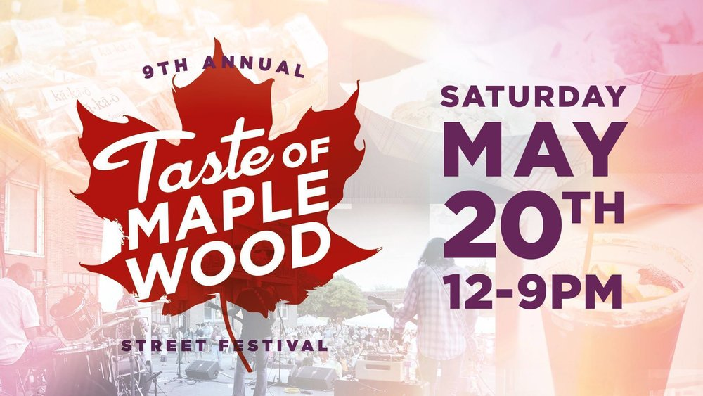 Saturday is the Big Day! 9th Annual Taste of Maplewood Street Festival! It's going to be so big, there will be NO SATURDAY METAL BRUNCH and we are running the whole day with our LIMITED EVENT MENU! Don't worry all the booze is still here!