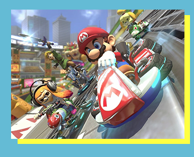 Mario Kart 8 Deluxe (Nintendo Switch) - FORMAT: Singles (1v1) & LAN GauntletSCHEDULE: 11 a.m. - 5 p.m. Saturday, November 18RULESET: CLICK HERE!ENTRY FEE: $5 Event Fee & Star, Mushroom, or Day PassLOCATION: UPPER REGENCY ROOM     SECTION: TBA