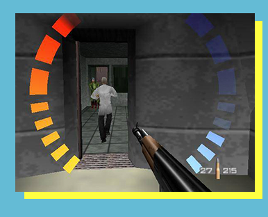 GoldenEye 64 (Nintendo 64) - 20th Anniversary Tournament! - FORMAT: Singles (1v1)SCHEDULE: 11 a.m. - 4 p.m. Sunday, November 19ENTRY FEE: $5 Event Fee & Star, Flower, or Day Pass LOCATION: Upper Regency Room       SECTION: TBARULESET: CLICK HERE!