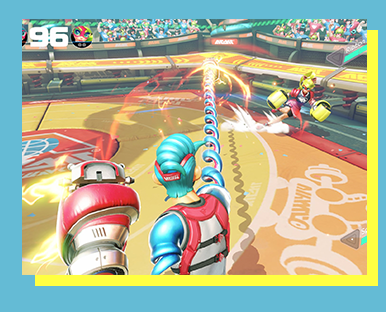 Arms (Nintendo Switch) - FORMAT: Singles (1v1)SCHEDULE: 5 to 10 p.m. Saturday, November 18RULESET: CLICK HERE!ENTRY FEE: $5 Event Fee & Star, Flower, or Day PassLOCATION: Upper Regency Room       SECTION: TBALIVESTREAM SCHEDULE:
