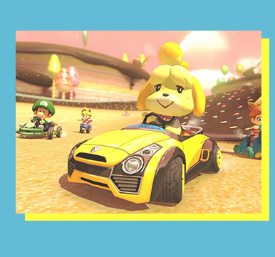 Mario Kart 8 Deluxe Juniors (Switch) - Players Must Be 17 & UnderFORMAT: Singles (1v1v1v1)SCHEDULE:ENTRY FEE: Free Entry with Star, Mushroom, or Day PassLOCATION: TBA       Section: TBARULESET: TBALIVESTREAM SCHEDULE: N/A