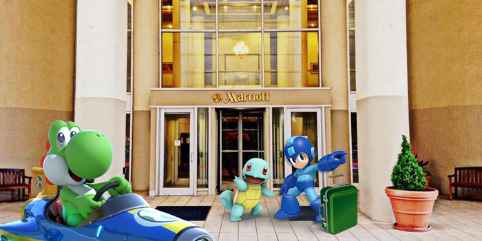 Super FamiCon has partnered with the Greensboro Marriott Downtown as the OFFICIAL HOTEL for Super FamiCon!