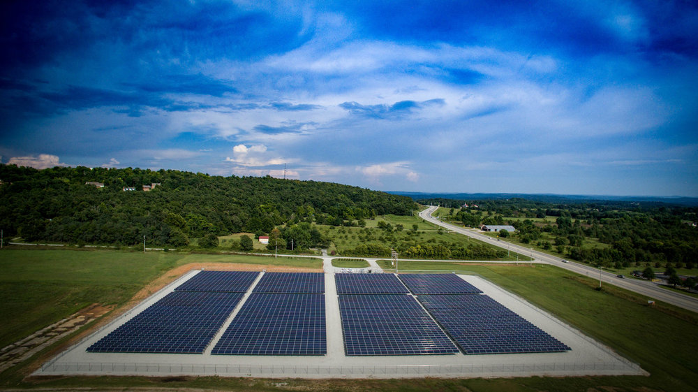 1 MW Community Solar Field located in Springdale, AR for Ozarks Electric Cooperative.   OECC is a member of the Electric Cooperatives of Arkansas.