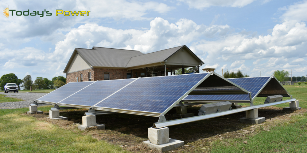 The Solar Home - Today's Power residential solar testing facility Vilonia, AR