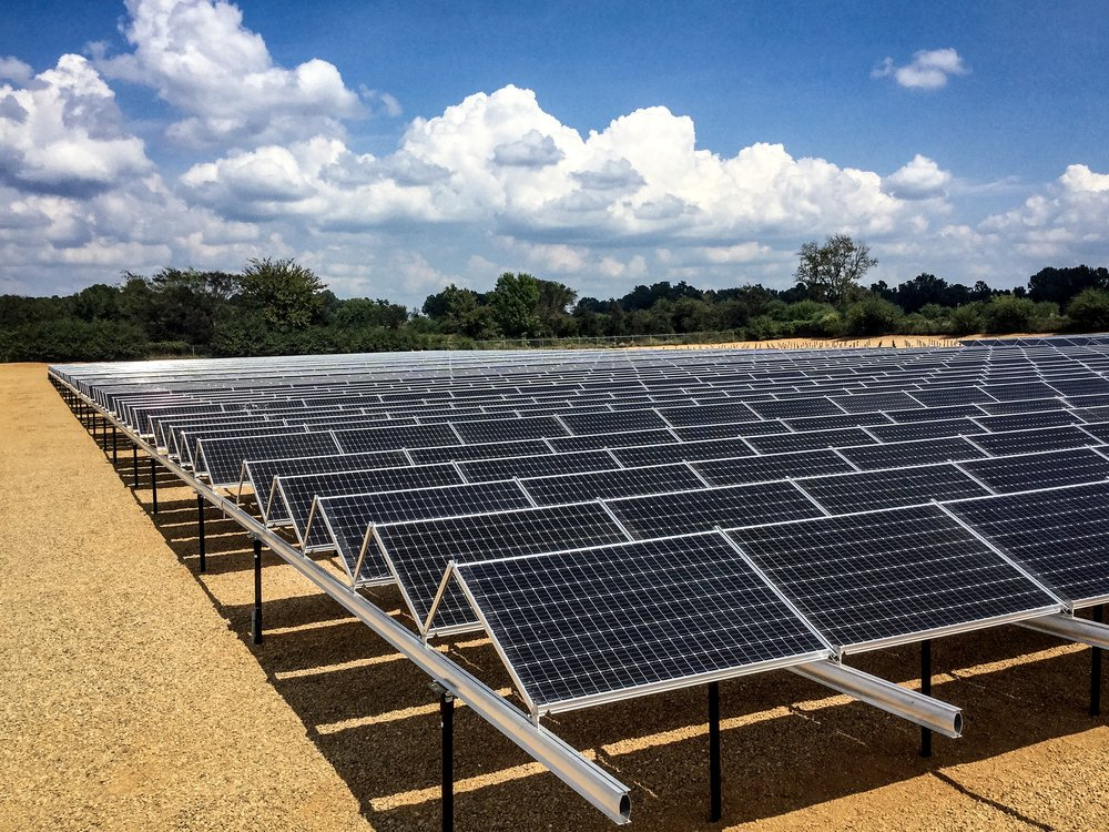 1.4 Megawatt System at Husqvarna Group - Installed by Today's Power, Inc.