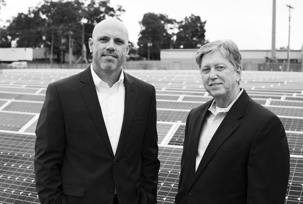 Michael Henderson, President (right) and Matt Irving, VP of Operations   (left)