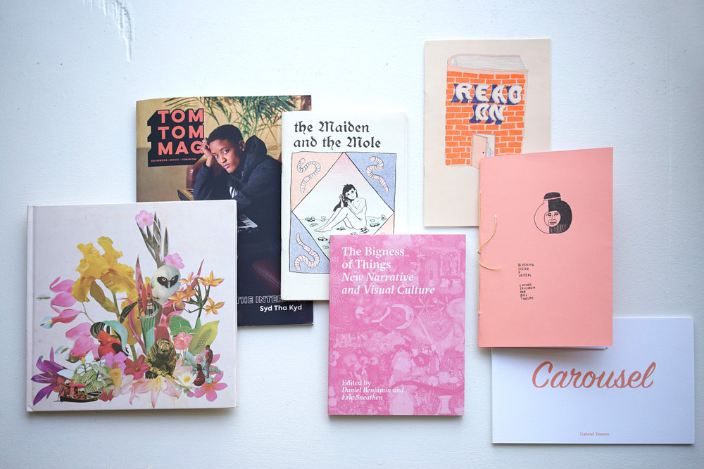 COLD soup zines - is a colorful selection of zines, books, and comics by artists and publishers from all over the US and beyond.
