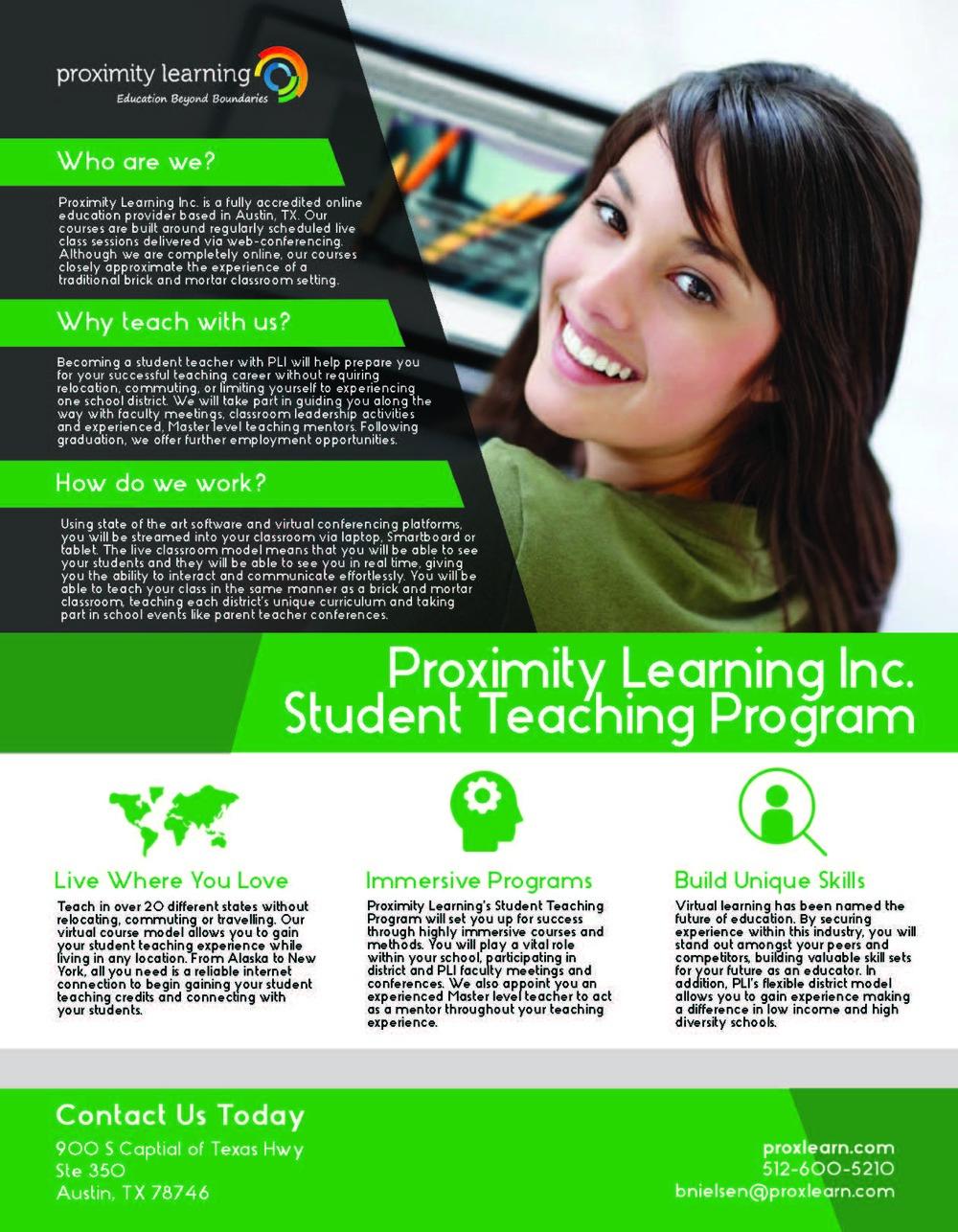 Student Teaching Program
