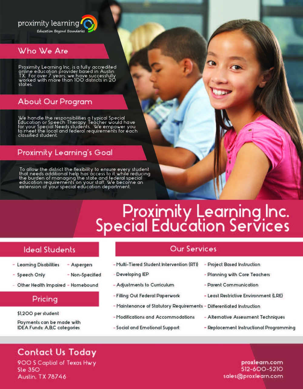 Special Education Flyer