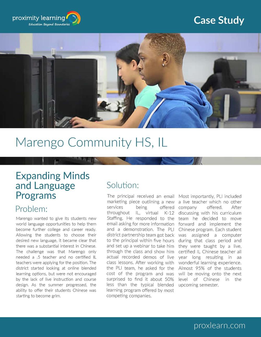 Marengo Community HS