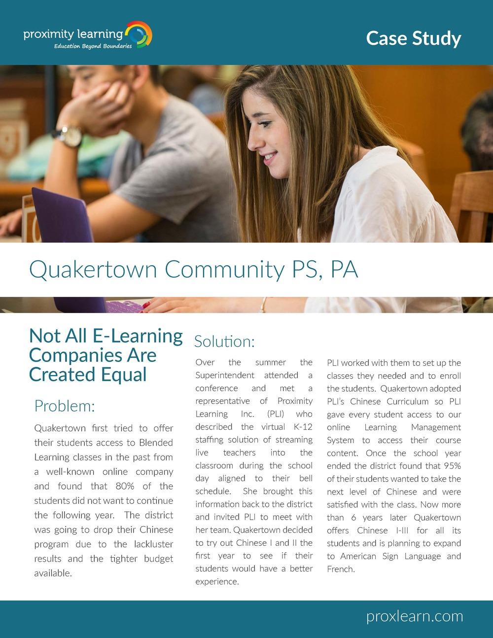 Quakertown Community