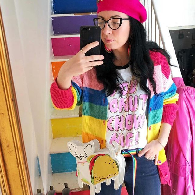 #regram Here's a pic to brighten up any Monday morning! The amazing @law1sfab in our You Donut Know Me top!  heroandcape.com  #heroandcape #clothing #fashion #tshirt #tee #handprinted #screenprint #illustrated #summer #donut #donuts
