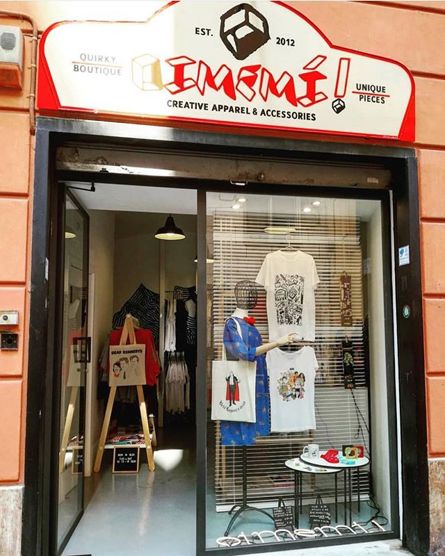 Exciting news for our followers in Italy! 🇮🇹 the amazing @oimemee in Genova will soon be stocking a selection of our tees!!