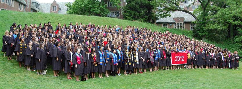 Wellesley College Class of 2012 Graduation Day