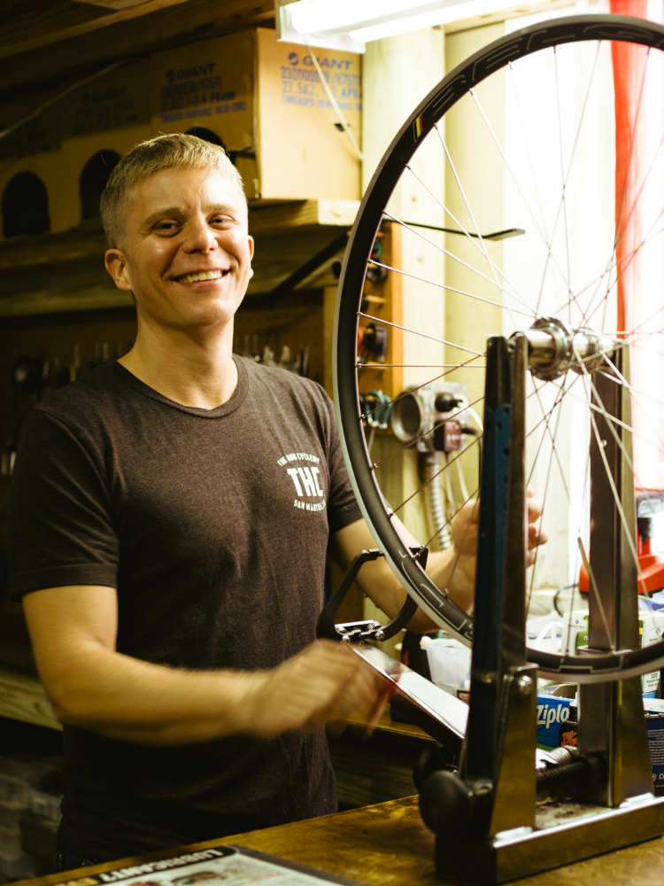 Andy Howard - Owner/Founder of The Hub CycleryAndy founded The Hub over a decade ago while still a Geography undergraduate student at Texas State University. Over the years he has been fortunate enough to follow his passion of helping people with all things cycling. With a background in marine mechanics, Andy brings a fresh perspective to service and repair. Specializing in wheel building, Andy has developed an efficient, reliable service department. Recently, Andy completed his MBA at Texas State University.