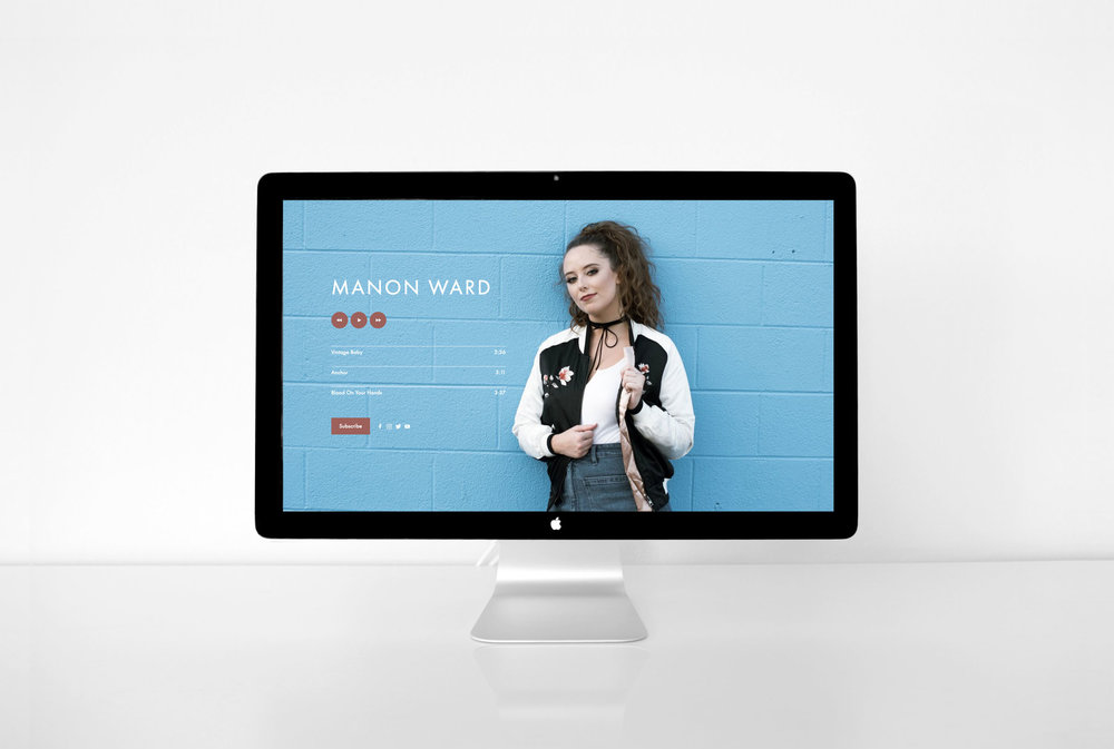 Manon Ward website