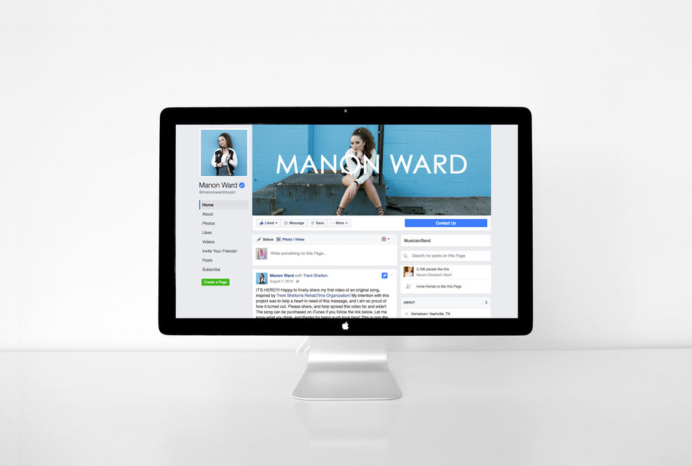 Manon Ward Music Facebook