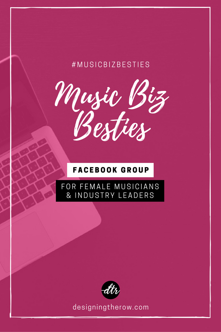 Music Biz Besties Facebook Group