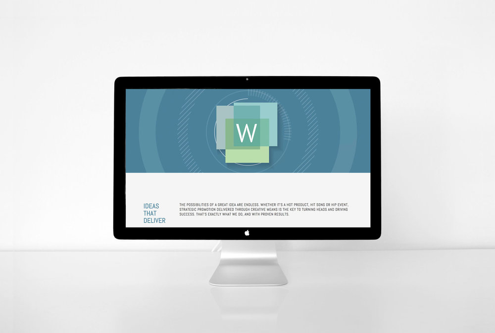 Wortman Works website design