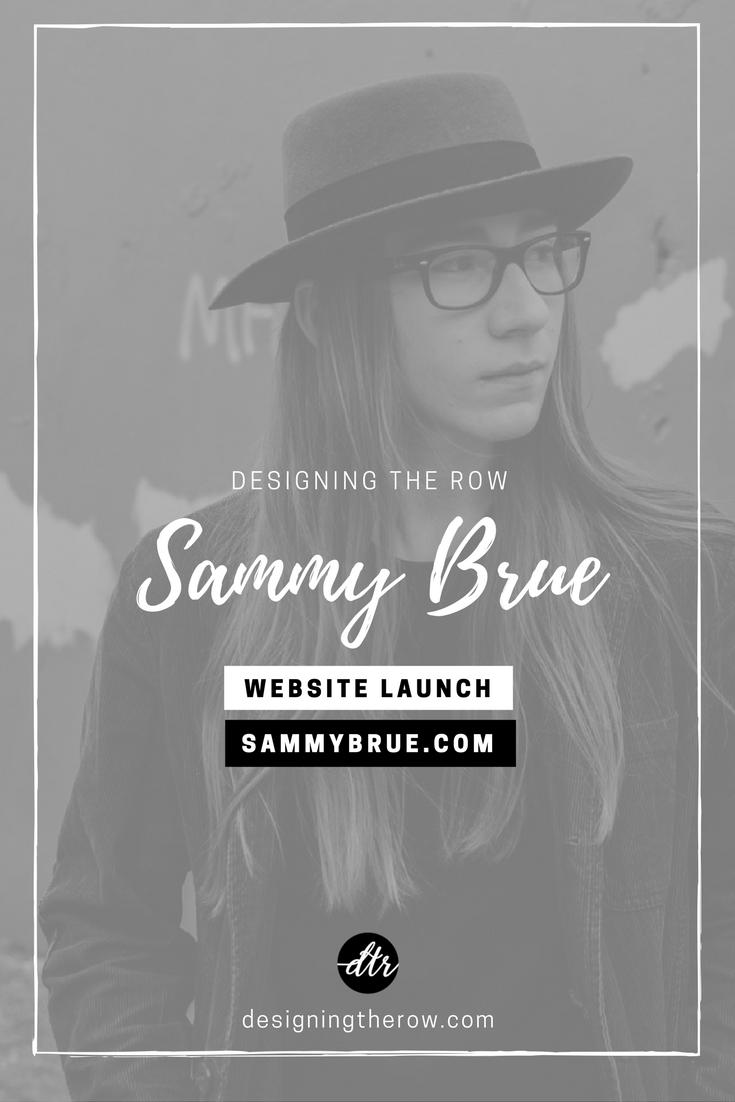Sammy Brue Website Launch