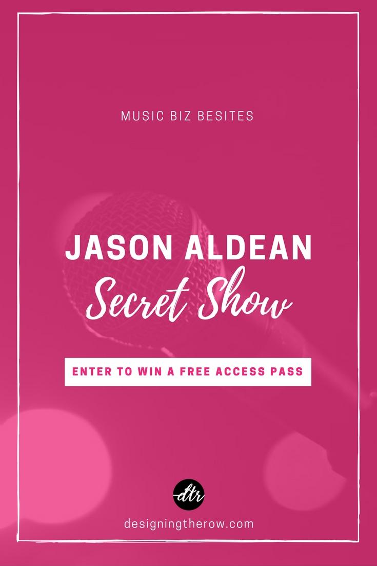 Jason Aldean Secret Show