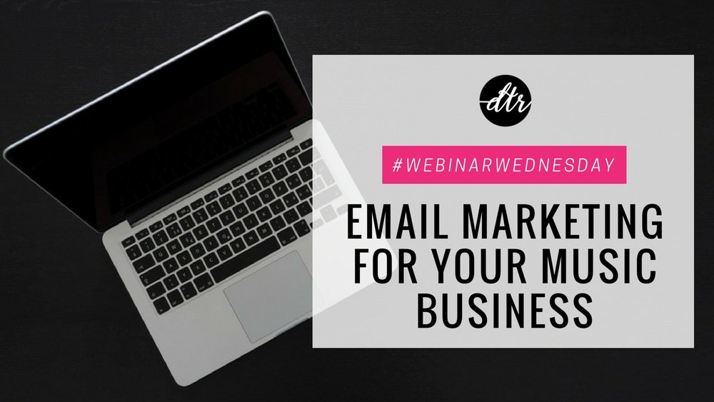 Email Marketing for your Music Business